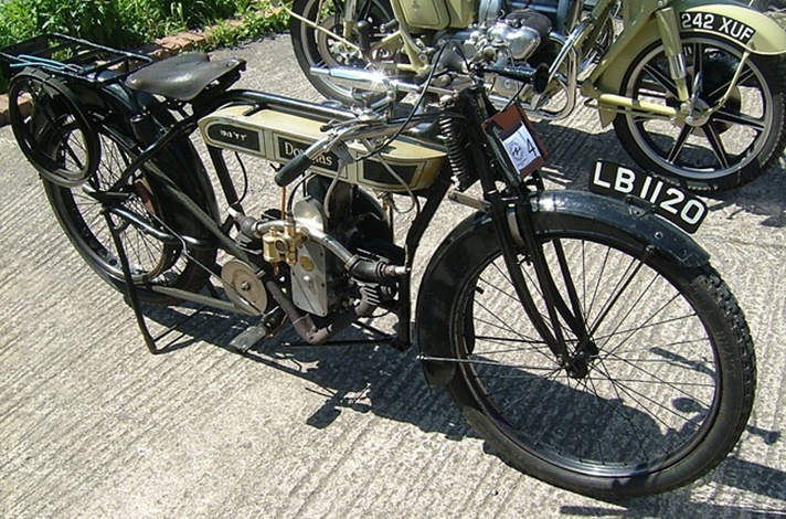 Douglas TT Model motorcycle, 1913