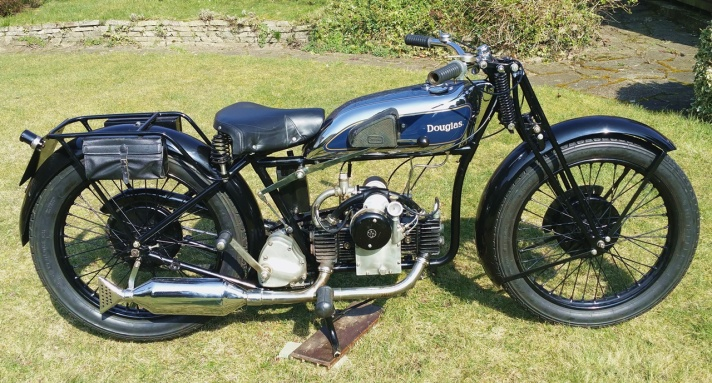 Douglas A31 motorcycle, 1931