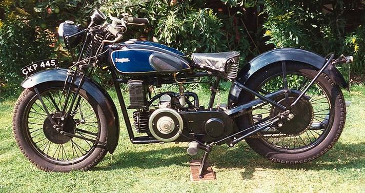 Douglas 250 Aero motorcycle, 1936