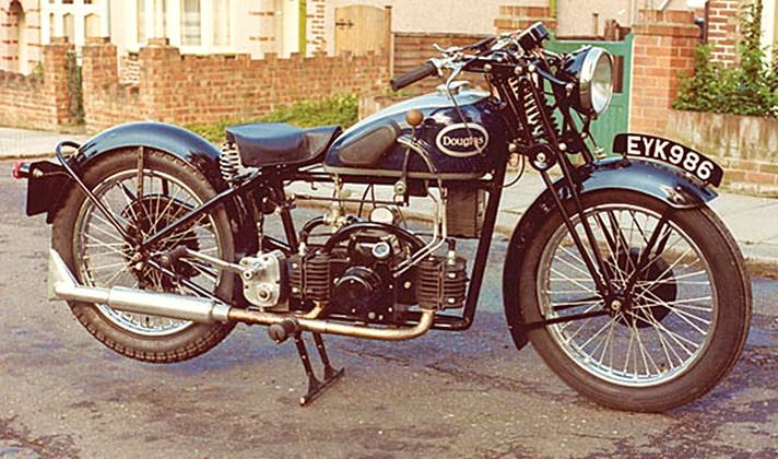 Douglas Aero 600 motorcycle, 1938
