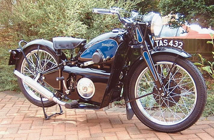 Douglas Bantam motorcycle, 1935