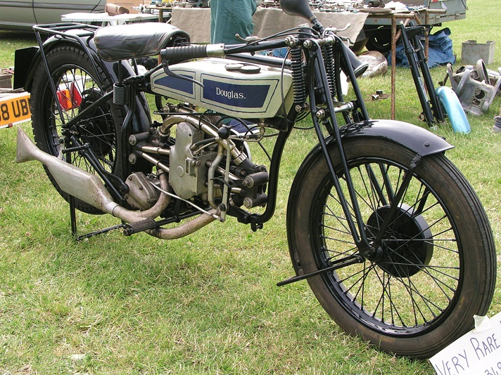 Douglas Model D28 motorcycle, 1928