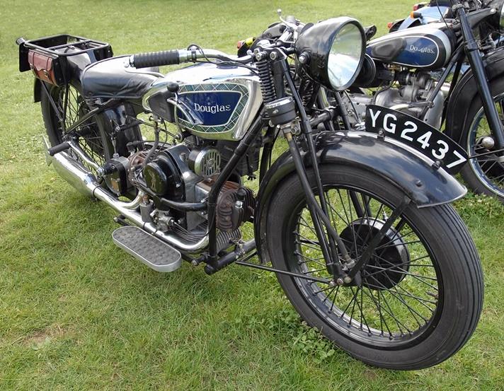 Douglas E32 motorcycle, 1932