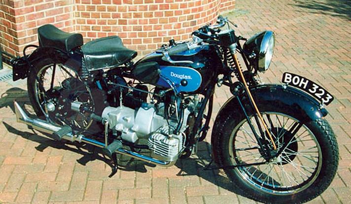 Douglas Endeavour motorcycle, 1935