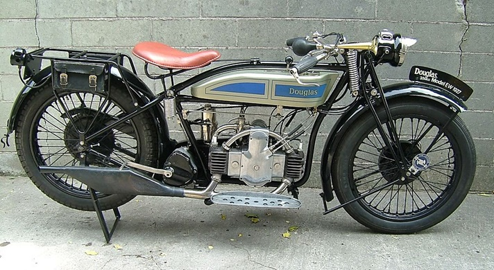 Douglas Model EW motorcycle, 1927