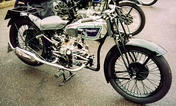 Douglas K32 motorcycle, 1932