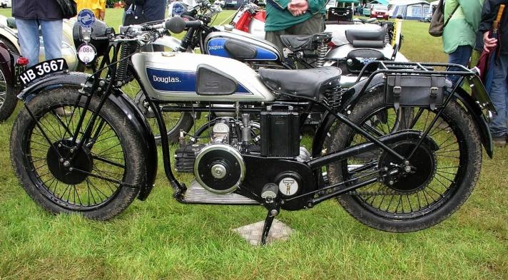 Douglas L3 motorcycle, 1930