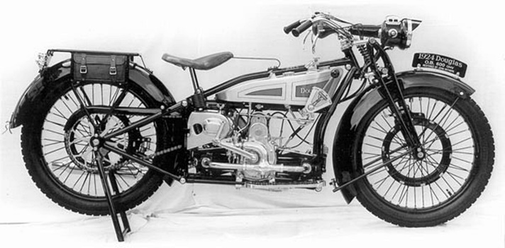 Douglas Model OB motorcycle, 1924