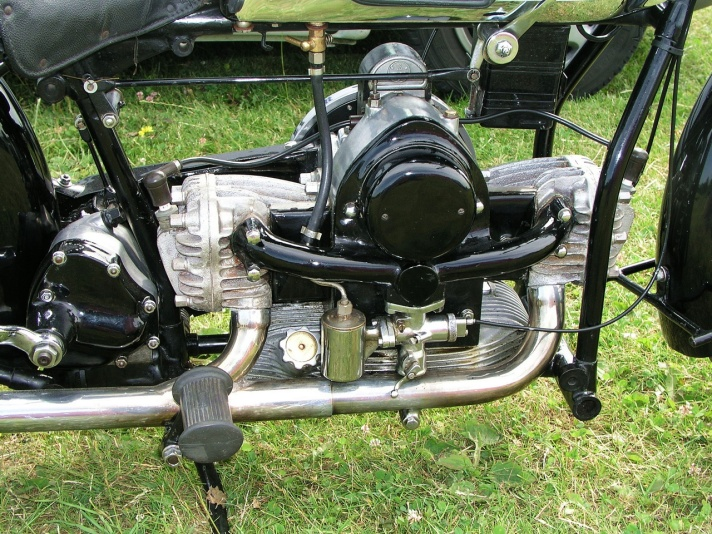 Douglas S6 motorcycle engine, 1930