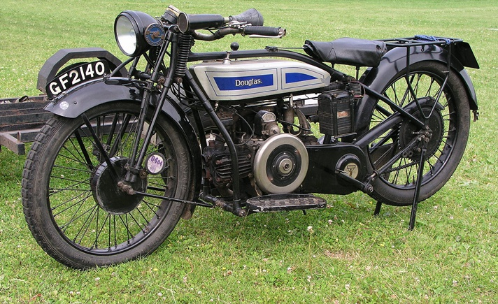 Douglas Model SB27 motorcycle, 1927