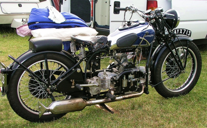 Douglas Z1 motorcycle, 1934