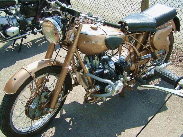 Douglas 90 Plus motorcycle,