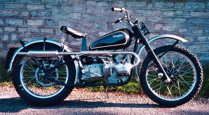 Douglas Mark Series Competition motorcycle, c.1949