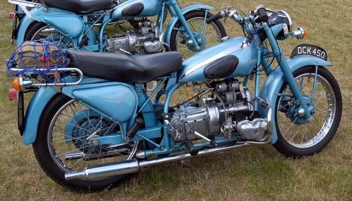 Douglas Mk4 motorcycle, 1950
