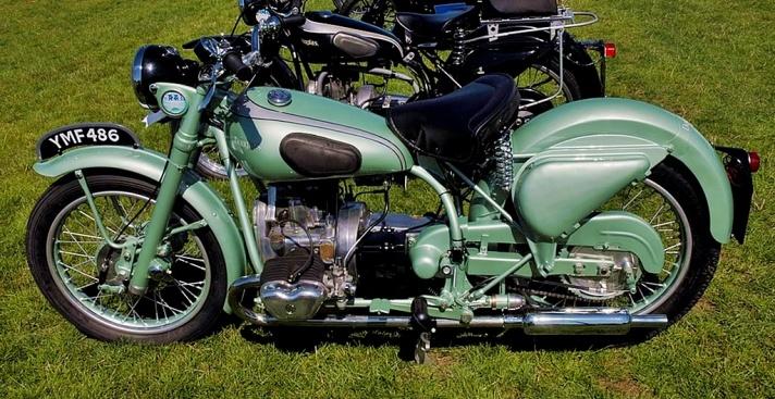 Douglas Mk5 motorcycle, 1952