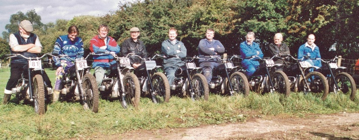 Team photo - Douglas off-road competition