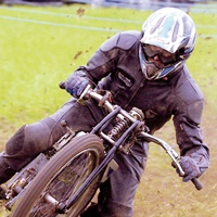 Grass track thrills and spills