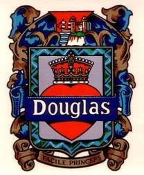Douglas Motorcycle Bleeding Heart Transfer