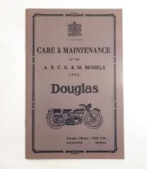 Douglas Motorcycle Manual