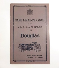Douglas Motorcycle Manual