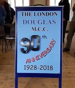 90th anniversary of the London Douglas Motor Cycle Club