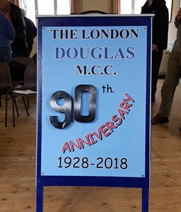 90th anniversary of the London Douglas Motor Cycle Club