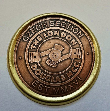 London Douglas Motor Cycle Club - Czech Section Badge