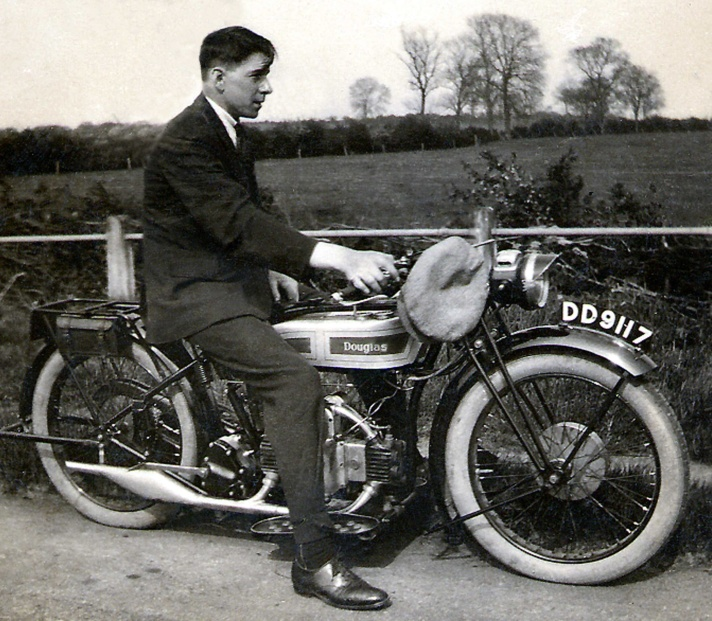 Douglas EW Sport motorcycle, c.1927