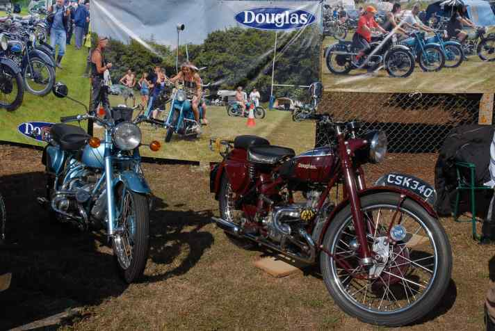 Douglas Club Stand at Maldon Bike Meet