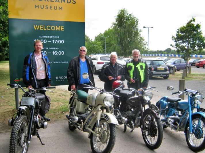 Douglas Club Surrey and Hants Section at Brooklands, July 2019