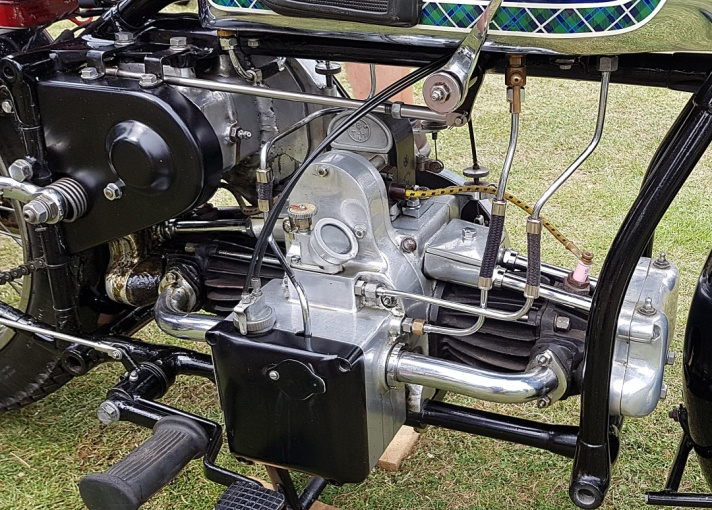 Douglas G31 600cc OHV Motorcycle Engine