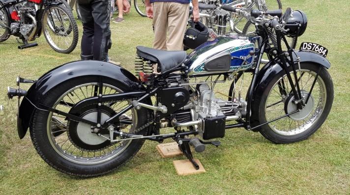 Douglas G31 600 OHV Motorcycle, 1931