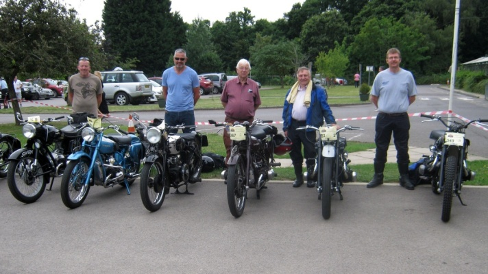 Douglas Club Group at Phyllis Tuckwell Show 2019
