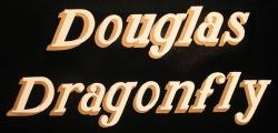 No. 14 Douglas Dragonfly Black Silver Transfer