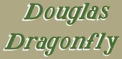 No. 15 Douglas Dragonfly Stone Green Transfer