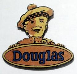No. 18 Douglas Scotsman Head Gold Transfer