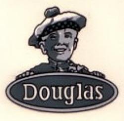 No. 19 Douglas Scotsman Head Silver Transfer