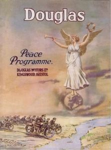 Douglas Motor Cycles Peace Publication 1919