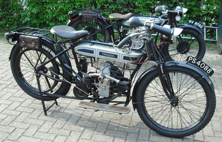 Douglas Model V Motorcycle 1917-1919