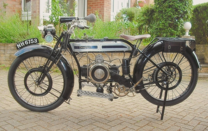 Douglas 2.75hp Model CW Motorcycle 1925